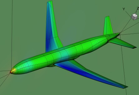 Aerodynamic optimization of airplane